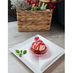 Cupcake jahodový